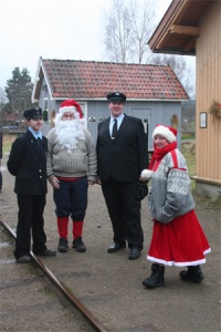 conductors and santas